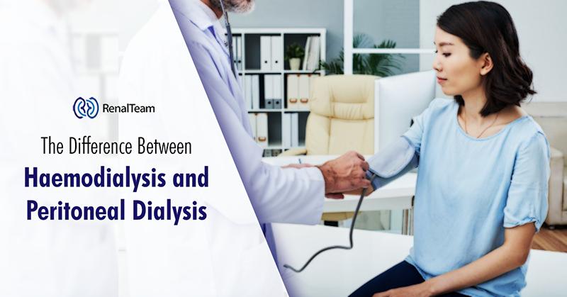 haemodialysis versus peritoneal dialysis