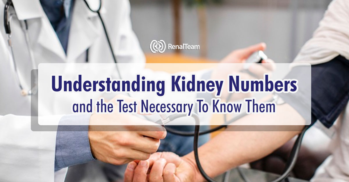 Kidney Numbers and Test Results